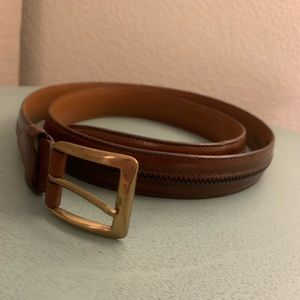 🎃 Johnston & Murphy Genuine Italian Leather Belt